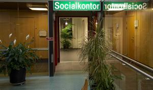 Socialkontoret på Medborgarhuset.