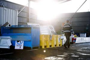 Det satsas på återvinningsstationerna i Åre kommun.