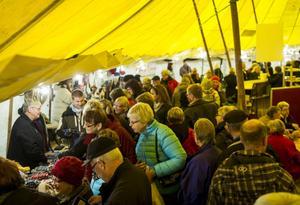 Hantverksmässan i Nävertjäl är den 26:e i ordningen och var under lördagen välbesökt.