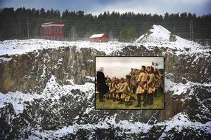 Varför anföll man inte Falun? Varför gjordes inga sabotage? Varför sprängde man inte vattendammarna vid Stångtjärn? Svaret är gruvans egen arme mellan 1642 - 1798, Bergsinfanteriregementet vid Stora Kopparbergslagen och Fahlun.