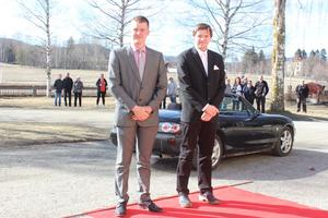 Henrik Norlund och Daniel Persson.