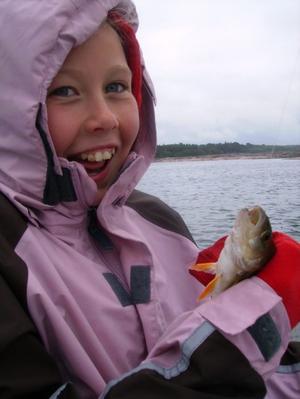 5:e plats. Fiskelycka på Åland. Inskickad av Irena Jansson.