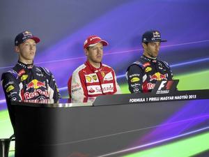 Den första höjdaren: Formel 1-tävlingen i Budapest.