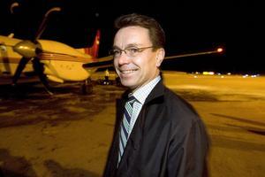 Jan-Olof Backman var en av grundarna av Höga Kusten Flyg 2007. Bild: Arkiv