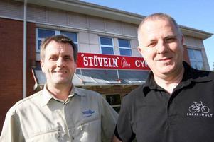 Sönerna Hans-Göran och Mats-Olov har nu har tagit över affären.