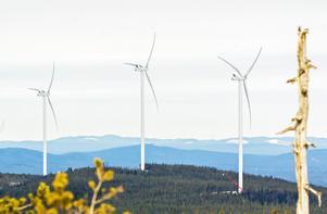 Vindkraftsverken splittrar folket och tar död på historiska värden och kultur, skriver insändarförfattaren. Foto: Joachim Lagercrantz