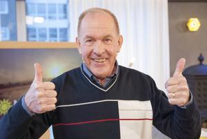 Ulf Söderholm var glad över sin vinst.