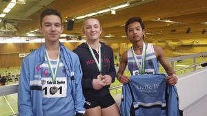 Från vänster: Ishak Sadek, Irma Karamehmedovic och Natthaphon Muanngoen