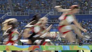 Charlotte Fougberg blev åtta i sitt försöksheat på 3000 meter hinder i OS men tiden räckte inte till för att få springa final.