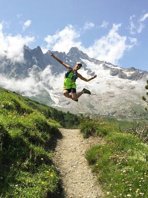 Arkivfoto: Elov Olsson springer i bergen
