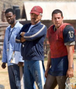 Fångarna Paul Crewe (Adam Sandler), Nate Scarboro (Burt Reynolds) och Caretaker (Chris Rock) ser till att fängelsevakterna får sig en rejäl omgång.