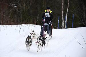 Joakim Pettersson kom på andra plats i Bäver Opens 4-spannsklass.