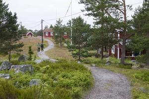 Två holländska turister semestrar i norra Sverige och gör ett stopp på Kuggören.