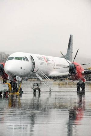 Nextjet startar flygtrafik mellan flygplatsen på Frösön och Bromma den 26 januari. Foto: nextjet