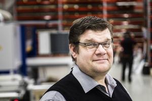 Järvsö industriplasts vd Lasse Söderlund.