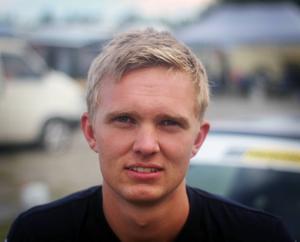 Anton Brorsson tävlar just nu i Sverigeserien. Men han siktar högre och ser ett VM-deltagande i framtiden.