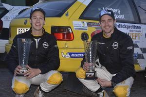 Emil Bergkvist och hans kartläsare Joakim Sjöberg är redo för VM-starten i Svenska rallyt – nu i en fyrhjulsdriven Citroën.