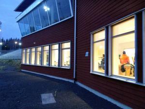 Hur området runt ÖSK ska utvecklas för bred året runt verksamhet var uppe för diskussion i nya sekretariatet på skidstadion på onsdagskvällen.