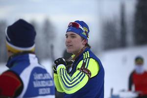 Martin Ponsilouma kör världscupen i Oberhof.