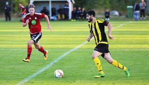 Saeed Khemisi, spelmotor och bollvinnare i Ljusne, var matchens lirare på Nymålavallen.