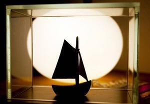 Birgittas bedårande segelbåt av Johnny Mattsson.