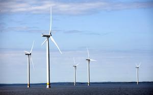 Nya vindar. De tio vindkraftverken i Vänern är ett exempel på vad som behövs mer av.  arkivbild: Fredrik Sandberg/SCANPIX