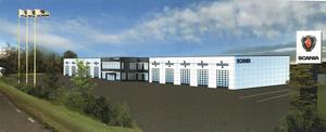 Den nya verkstaden blir på 5000 kvadratmeter, vilket är betydligt större än den nuvarande i Gärde.