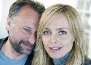 Michael Nyqvist och Izabella Scorupco har blivit vänner under arbetet inför inspelningarna av