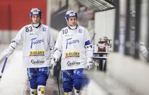 Vad hände här? Villas vassa duo Daniel Andersson och David Karlsson överraskade både sig själva och alla andra med urladdningen mot mästarlaget VSK.
