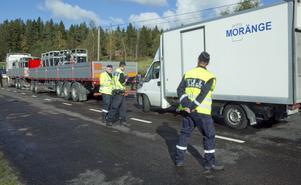 Även tullpersonal från Sundsvall medverkar under de tre trafikdagarna i Hudiksvall.