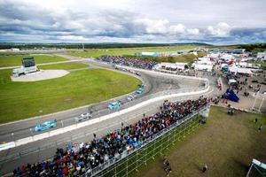 Återigen blev STCC Airport race en folkfest och läktarna var fulla under lördagen när tävlingarna pågick.
