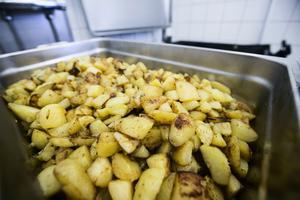 Potatisen kommer från Rossö Gård i Kramfors.