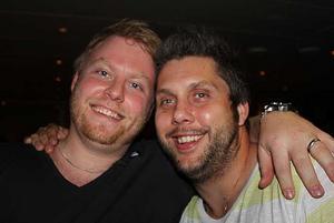 Blue Moon Bar. Johan och Joel.