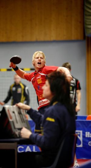 Hampus Nordberg mot Rekord den 25 januari.