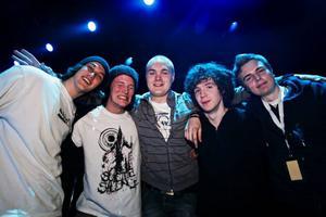 De vann länsfinalen i Musik Direkt 2009 – Await The End som består av Jocke Rehnholm, John Falk, Viktor Strandberg, Christoffer Abrahamsson och Markus Boström.
