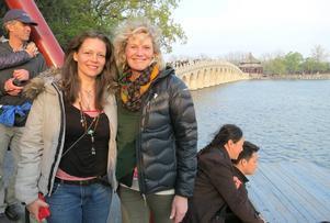 Suzanne Robidoux - här tillsammans med Susanne Lindström – kommer till Leksand nästa år.