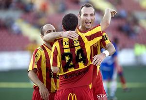 Division 1 - målskytt i en match mot Timrå i norrettan.