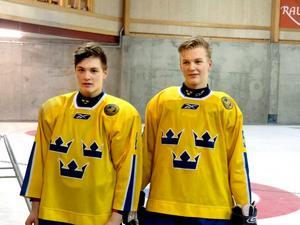 Rasmus Fyrpihl och Gustav Backström.