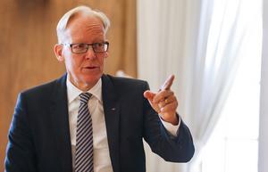 Johan Söderström är inne på sitt 33:e år inom industrijätten ABB.