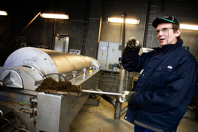 Matavfallet ska bli biogas