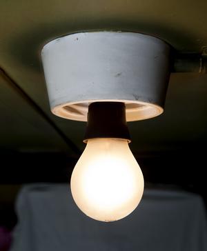 Glödlampa.
