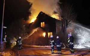 En kvinna omkom i en villabrand i Dalsbyn i Säter den 3 januari,