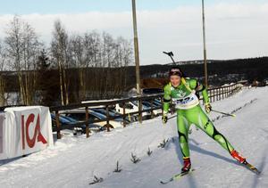 Johanna Skottheim från Lima skyttegille segrade i damernas seniorklass.