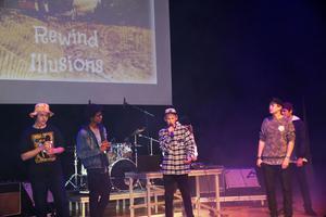 Rewind Illusions från norra Västmanland bjöd på härlig hiphop.