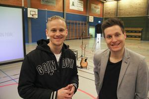 Erik Grönwall och Simon Vikström.