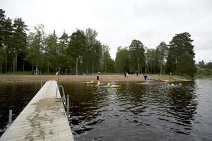 Tansenbadet i Grycksbo under Sjöhäng.
