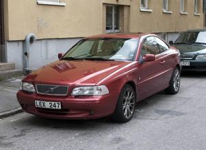 Linus bil som anses vara för fin för stadens gator.