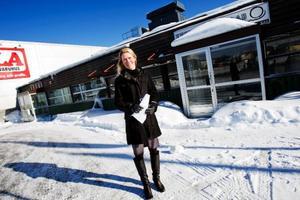 """""""För Östersunds del är det här området det som är mest attraktivt att utveckla"""", säger Sofia Lind, projektledare hos NHP Östersund. Foto: Ulrika Andersson"""