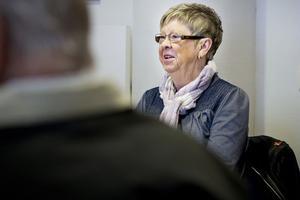 Avgående ordföranden Sonja Johansson deklarerade först att föreningen Ljusglimten skulle avvecklas, men ändrade sig under mötet till att lämna över till den nya styrelsen.