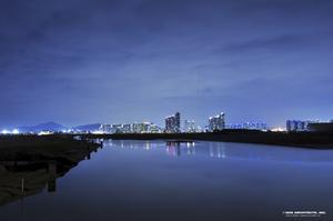 Så här ser det ut på ritningarna när skyskrapan i Sydkorea döljs med hjälp av ny teknologi.